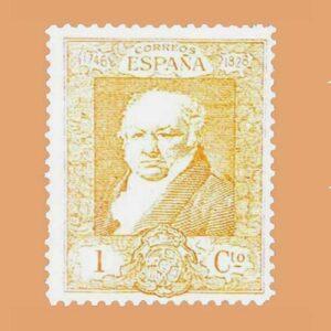 00499 Quinta de Goya Exposición de Sevilla Sello 1ct. 1930