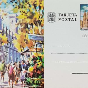 Enteros Postales 0101. Turismo. Barcelona. 1973