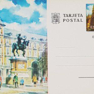 Enteros Postales 0102. Turismo. Madrid. 1973