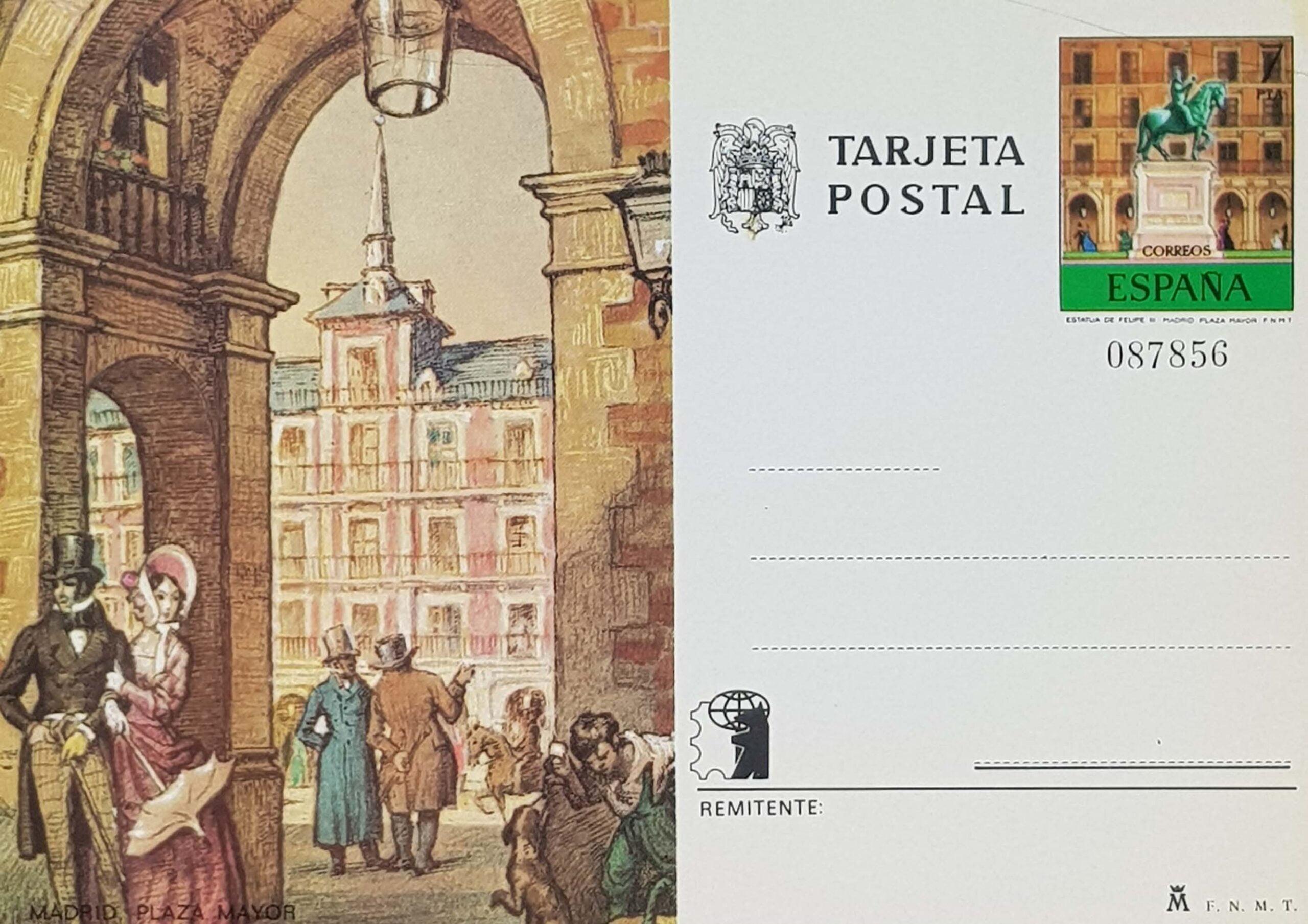 Enteros Postales 109. Expo España 75. 1975