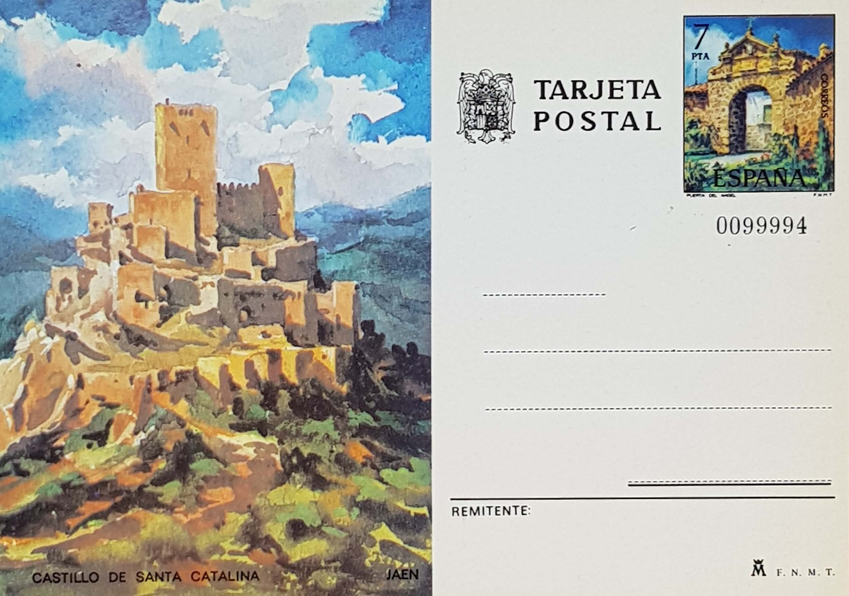 Enteros Postales 112. Turismo. Jaén. 1975