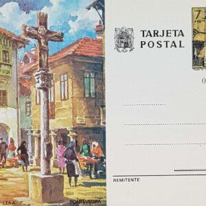 Enteros Postales 114. Turismo. Pontevedra. 1976