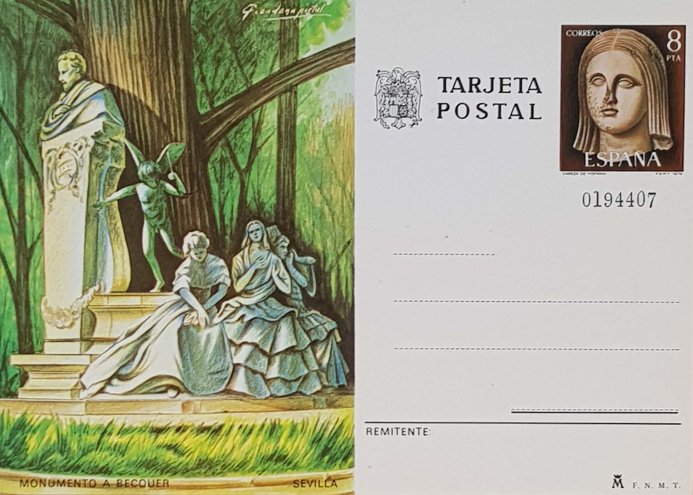 Enteros Postales 118. Turismo. Sevilla. 1978