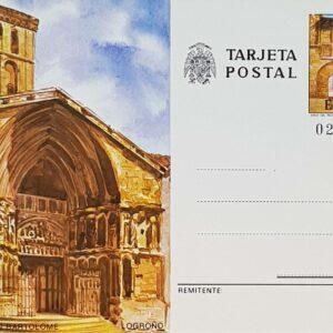 Enteros Postales 123. Turismo. Logroño. 1980