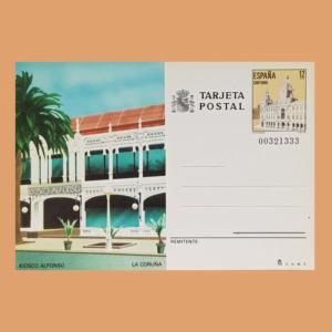 Enteros Postales 139. Turismo. La Coruña 1985