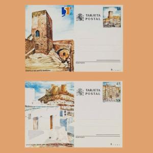 Enteros Postales 149-150. Turismo. Alicante, Almería 1990