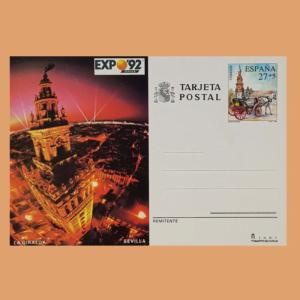 Enteros Postales 154. Expo 92. 1992