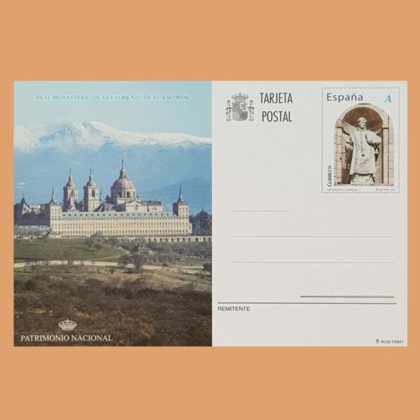 Enteros Postales 178. Patrimonio Nacional. 2008