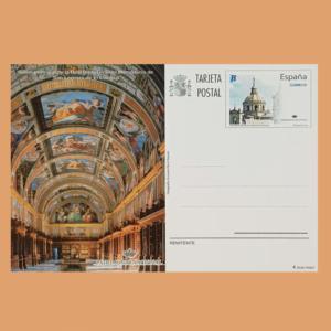 Enteros Postales 182. Patrimonio Nacional. 2009