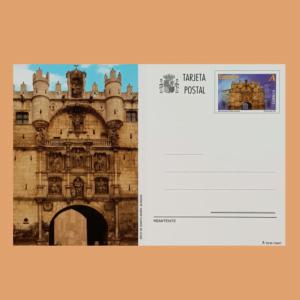 Enteros Postales 189. Patrimonio Nacional. Arco de Santa María. 2012