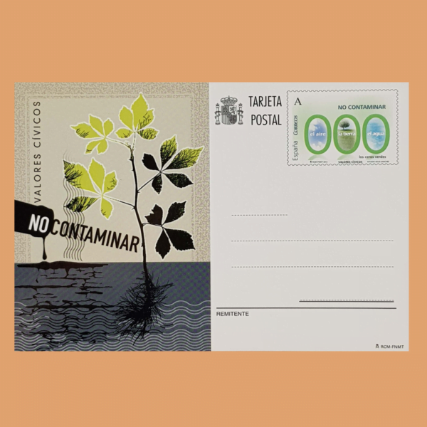 Enteros Postales 191. Valores Cívicos. 2012