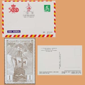Sobre Enteros Postales 7. XII Certamen Filatélico Iberoamericano