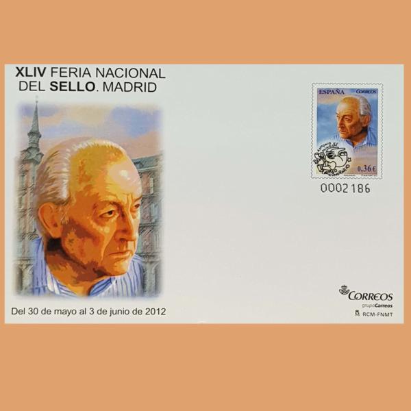 Sobre Enteros Postales 135-136. XLIV Feria Nacional del Sello 2012