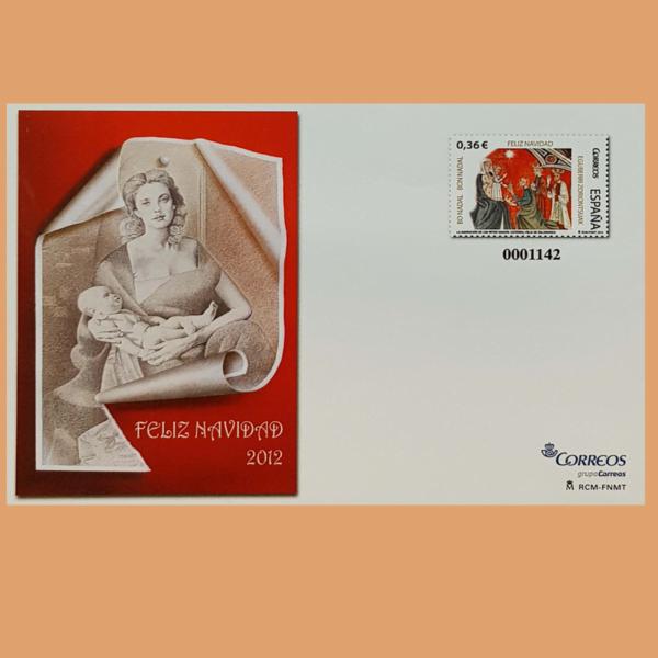 Sobre Enteros Postales 137. Navidad 2012