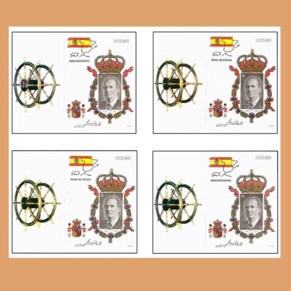 Carnwt 3544C – Carterita del Rey S.M. Don Juan Carlos I – 1998