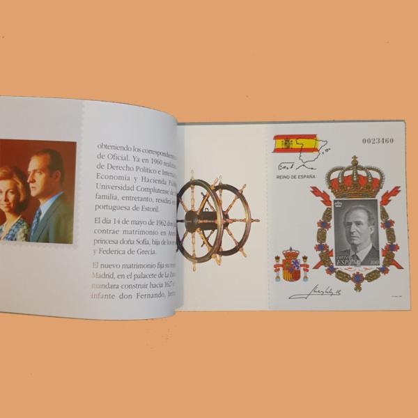 Carné 3544C – Carterita del Rey S.M. Don Juan Carlos I – 1998