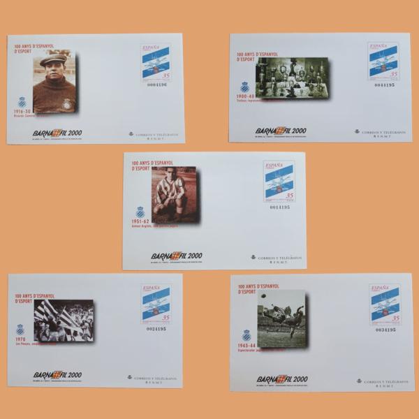 Sobre Enteros Postales 59. BARNAFIL'2000. Barcelona 2000