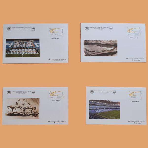 Sobre Enteros Postales 78. XXXIV Feria Nacional del Sello Madrid, 2002