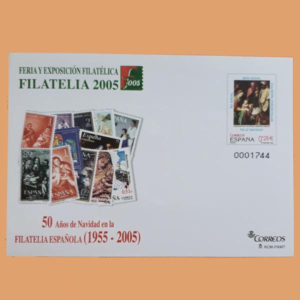 Sobre Enteros Postales 104. Feria y Exposición Filatélica FILATELIA 2005. Madrid