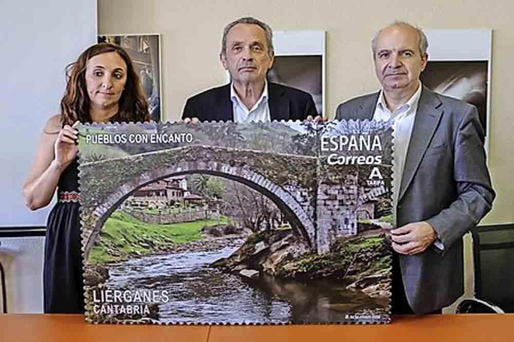 Presentación de un sello dedicado a Liérganes, dentro de la serie Pueblos con Encanto 2019