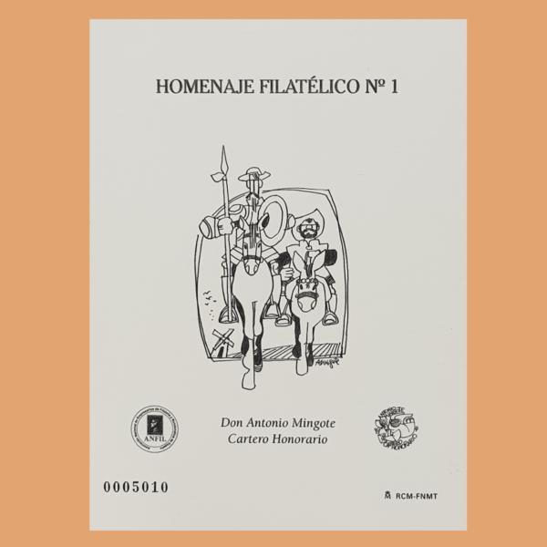 Homenaje Filatélico 1. Antonio Mingote. 2005