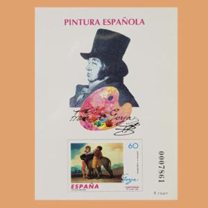 Prueba de Lujo 60. Pintura Española. Goya. 1996