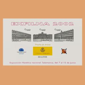 Prueba de Lujo 78. EXFILNA 2002. Salamanca