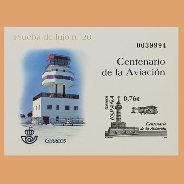 Prueba 82. Centenario de la Aviación 2003