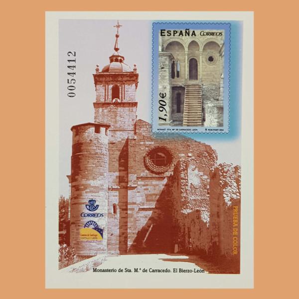 Prueba de Lujo 83. Monasterio Carracedo 2004