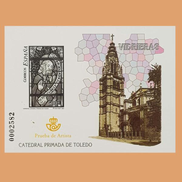 Prueba 85. Vidrieras. Catedral Primada de Toledo. 2004