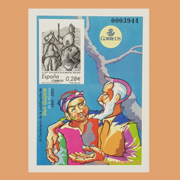 Prueba de Lujo 86-89. Don Quijote de La Mancha. 2005