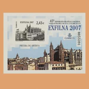 Prueba de Lujo 94. EXFILNA 2007. Palma de Mallorca