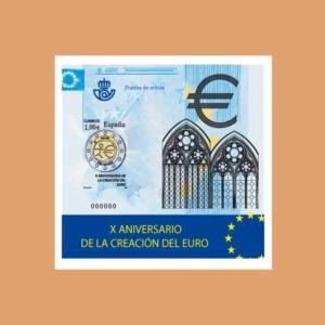 Prueba 98. X ANIVERSARIO DE LA CREACIÓN DEL EURO. 2009