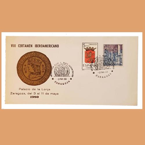 Sobre VIII Certamen Iberoamericano. Zaragoza, 3-11 Mayo 1980