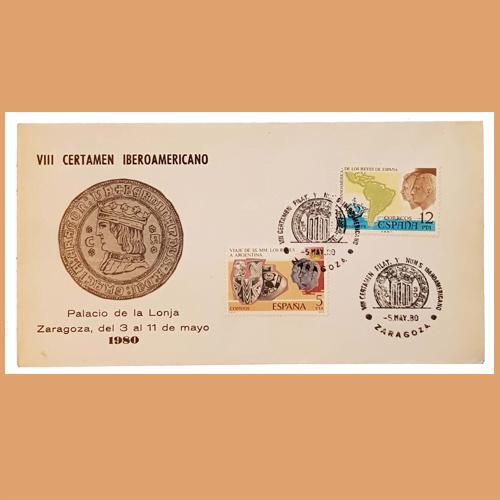 Sobre VIII Certamen Iberoamericano. Zaragoza, 3-11 Mayo 1980 Palacio La Lonja