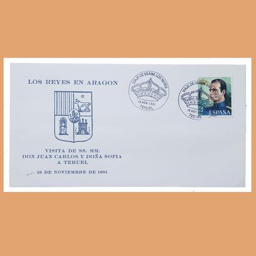 Sobre Serie Los Reyes en Aragón. 17 de Septiembre 1981