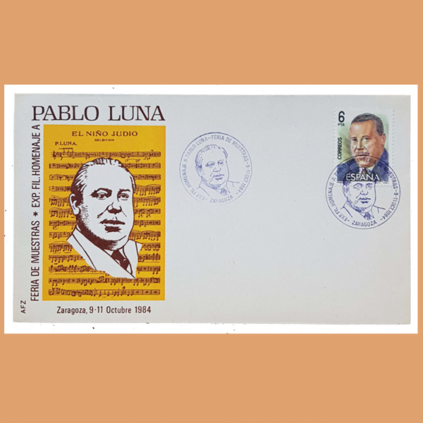Sobre Homenaje a Pablo Luna. Zaragoza, 9-11 Octubre 1984