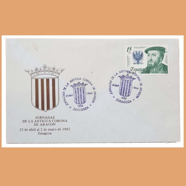 Sobre Serie Corona de Aragón. 23/4 - 2/5 1982