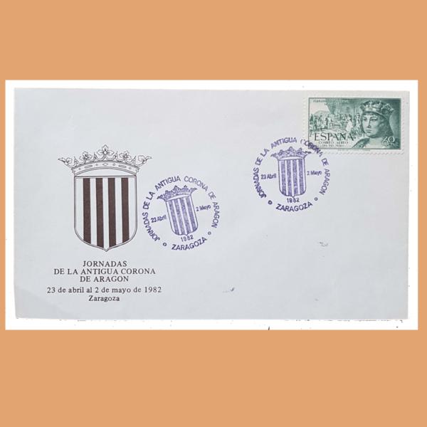 Sobre Antigua Corona de Aragón. (Fernando el Católico) Zaragoza, 23/4 - 2/5 1982