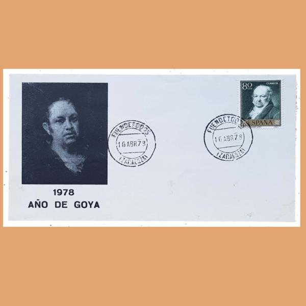 Sobre Año de Goya. Fuendetodos, 16 Abril 1978