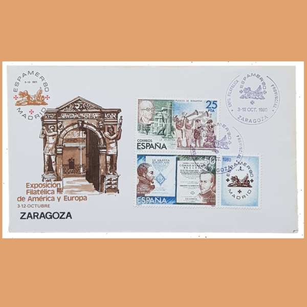 Sobre ESPAMER 80. Zaragoza, 3-12 Octubre 1980 - 1