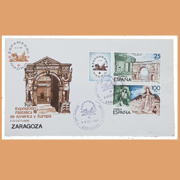 Sobre ESPAMER 80. Zaragoza, 3-12 Octubre 1980 - 2