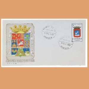 Sobre Primer Día Huesca. Huesca, 9 Diciembre 1963