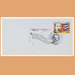 Sobre Exposición Filatélica Hispano Cubana. Zaragoza, 28/4 - 7/5 1995
