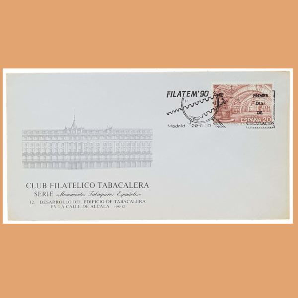 Sobre FILATEM 90. Madrid, 22 Junio 1990