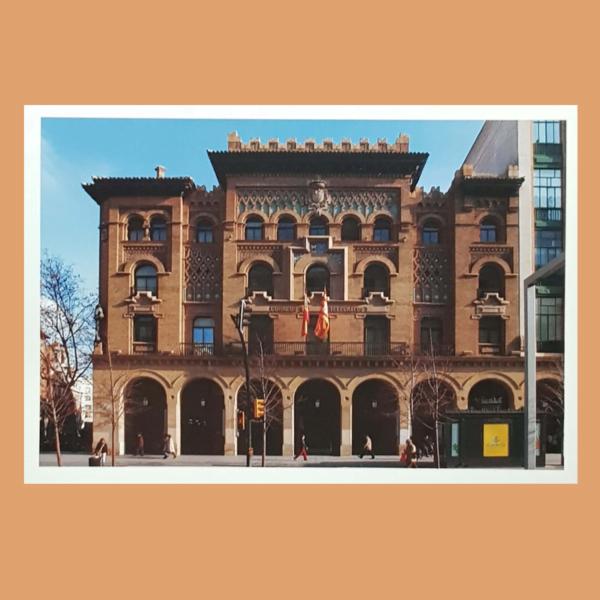 Tarjetas del Correo 035. Arquitectura Postal. Expo Zaragoza. 2008