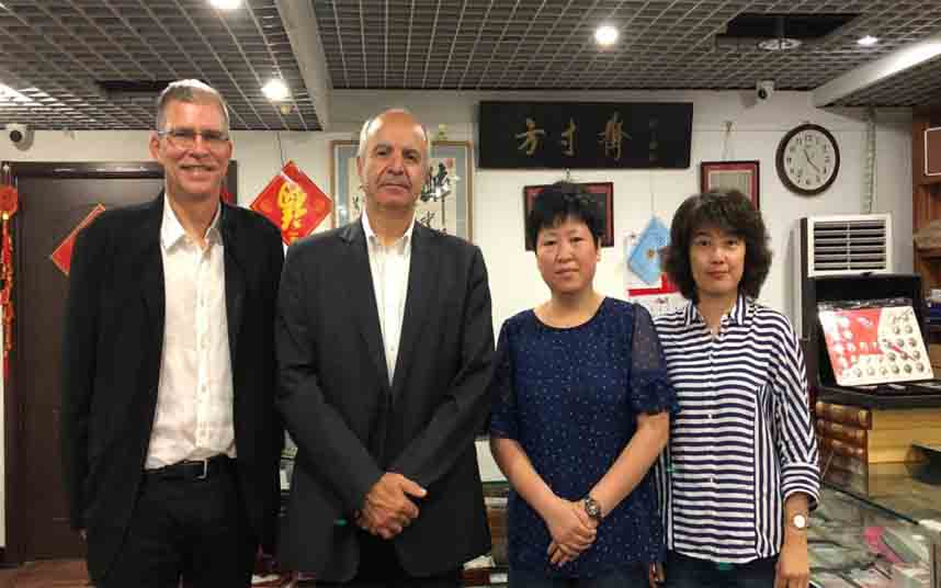 El diseño y la innovación filatélica para la introducción en el mercado chino