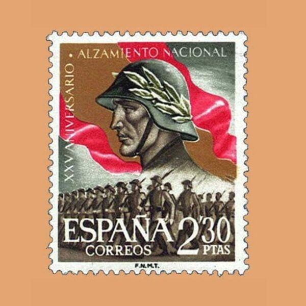 01358. XXV Aniversario del Alzamiento Nacional. Desfile de la Victoria