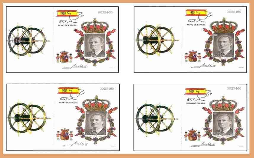 Cartera de Don Juan Carlos I, 1998 Edifil Carnet 3544C