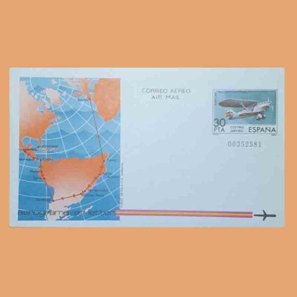 Aerogramas 203 y 204 Aerograma 1982